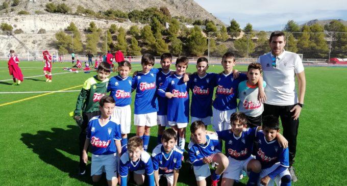 Victoria del Alevín A y el Juvenil del Villena CF