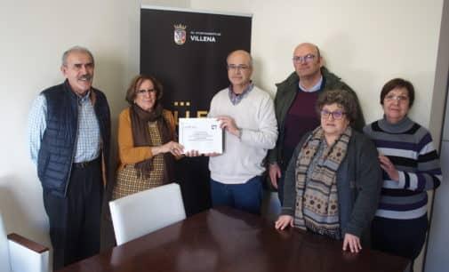 Manos Unidas agradece su colaboración al Ayuntamiento de Villena