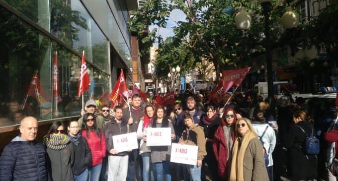 """Los trabajadores de APADIS """"Oltra"""" vez sin cobrar"""