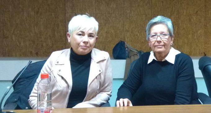 La Asociación de Aparadoras/es y Trabajadoras/es del calzado de Villena se reúnen con la Directora General de Trabajo
