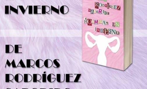 El villenense Marcos Rodríguez presenta su última novela «Hormigas en Invierno»