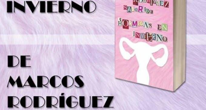 """El villenense Marcos Rodríguez presenta su última novela """"Hormigas en Invierno"""""""