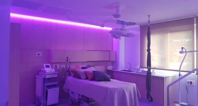 Los paritorios del Hospital Universitario de Elda incorporan musicoterapia para reducir la ansiedad en el parto