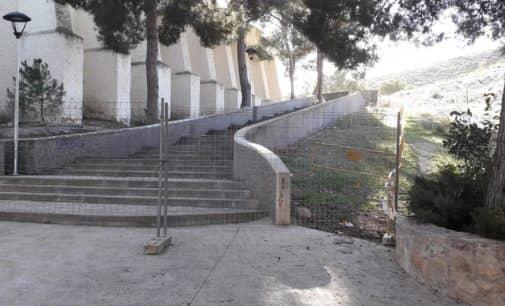 Un informe técnico establece el conjunto del santuario como zona de riesgo