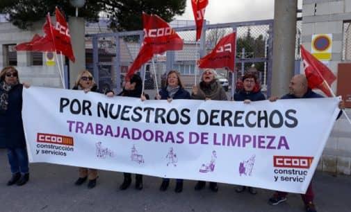 Huelga de Limpieza en el  Residencia para personas con discapacidad psíquica Peña Rubia de Villena por impagos
