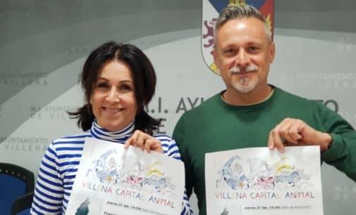 El villenense, Francisco Almarcha, aborda en su nuevo libro las relaciones con el lobo