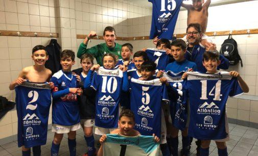 El Alevín A del Villena CF sigue sumando puntos