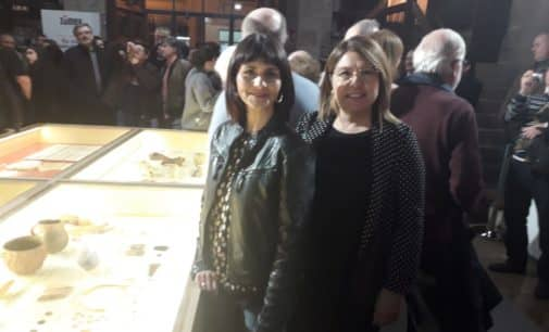 El Cabezo Redondo de Villena se exhibe en el Palau de la Generalitat