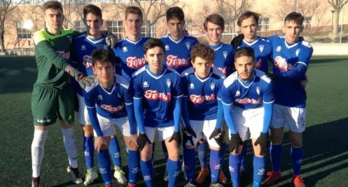 Buen partido del Juvenil del Villena CF