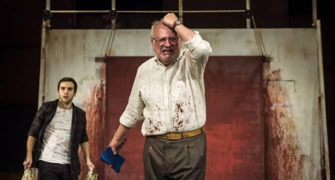 """Juan Echanove y Ricardo Gómez protagonizan """"Rojo"""" en el Teatro Chapí"""