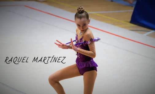Gran exhibición de las gimnastas villenenses en Alicante