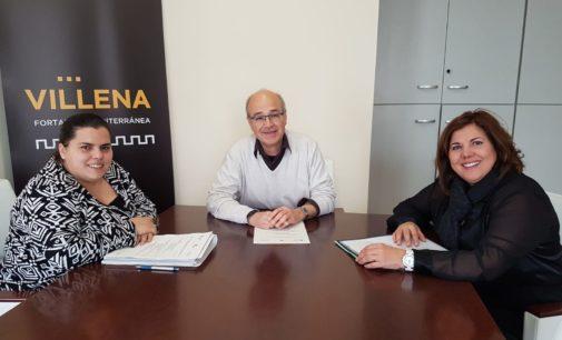Reunión con la Directora General de Formación Profesional para solicitar nuevos ciclos formativos en Villena