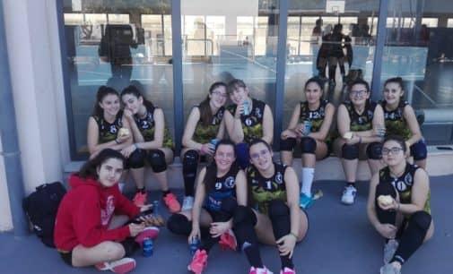 Doble victoria del Cadete Femenino del Club Voleibol Villena