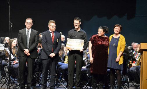 El compositor villenense, José Miguel Ruiz, gana el accésit del concurso de música festera de l´Olleria