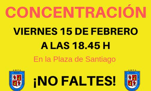 La AMPA del CEIP Príncipe D Juan Manuel convoca una concentración para mañana viernes