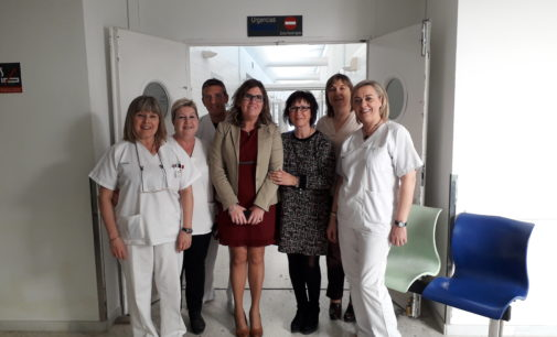 La Directora General de Alta Inspección Sanitaria visita el Centro Sanitario Integrado