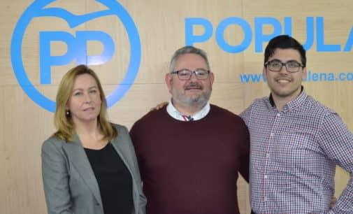 Daniel Domene y María José Hernández formarán parte del equipo de Pepe Hernández para las próximas elecciones municipales