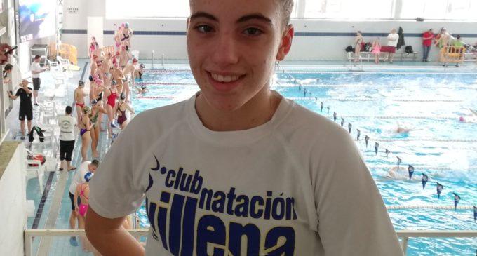Excelente participación de Irene Díaz Castillo en el campeonato Autonómico Infantil de Invierno de Natación