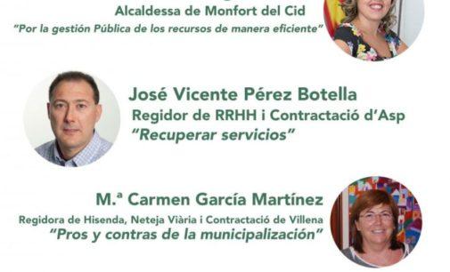 El PP considera que la edil de Servicios falta al respeto a los villenenses al asistir a una mesa redonda estando de baja