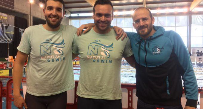 El villenense, Carlos Soler, campeón de España Máster en 400 m. Libres