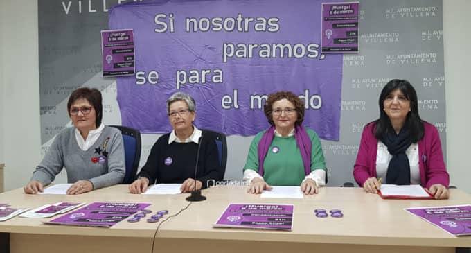 La Comisión 8M en Villena mantiene la huelga del 8 de marzo y la concentración pese a coincidir con el Medievo