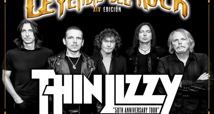 Thin Lizzy, segundo cabeza de cartel de Leyendas del Rock 2019