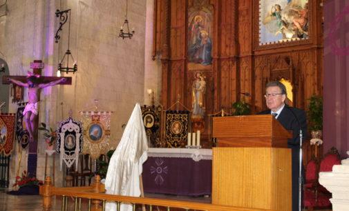 El pregón de Ramón Martínez abre la Semana Santa en Villena