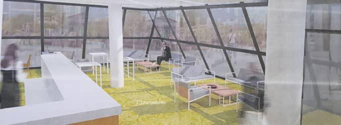 Presentan el proyecto para habilitar la pirámide del coso como espacio de coworking