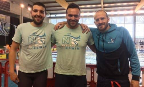 Carlos Soler lidera la general del tercer control de natación master +35
