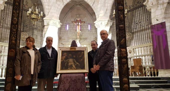 Julio Guillén cede a Villena un cuadro del artista barroco villenense, José García Hidalgo