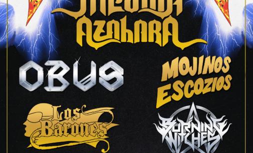 Mojinos Escozíos vuelven a la Fiesta de Bienvenida de Leyendas del Rock 2019
