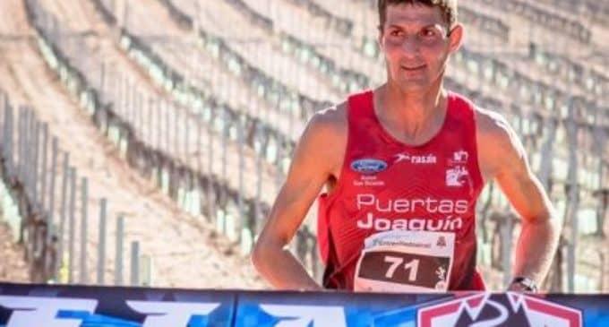 El villenense Andrés Micó gana la I Entreviñedostrail