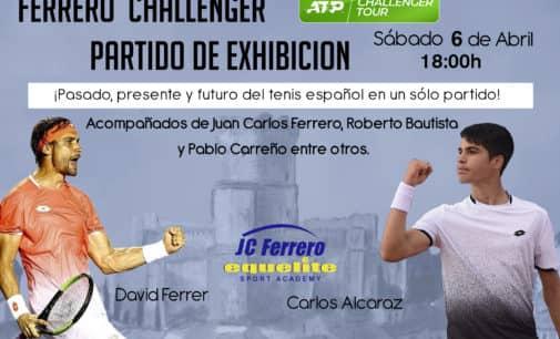 Trasladan la exhibición de David Ferrer a mañana sábado