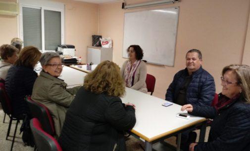 CC.OO. se reúne con la Asociación de aparadoras/es y trabajadoras/es del calzado de Villena
