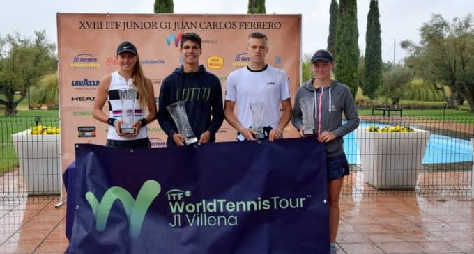 Carlos Alcaraz se hace mayor en el ITF G1 Trofeo Juan Carlos Ferrero