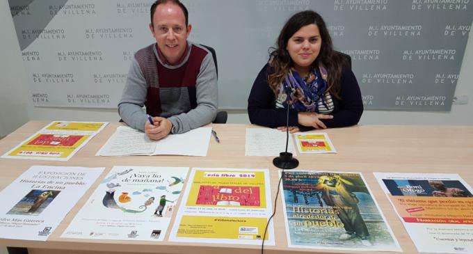 Las Bibliotecas llenarán de libros la plaza de Santiago el 13 de abril