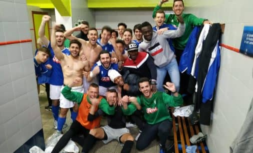 El Villena CF gana al Benidorm y sueña con la permanencia
