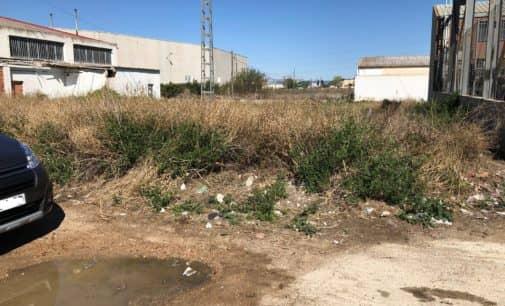 El PSOE pide la limpieza de los Altos de la Condomina