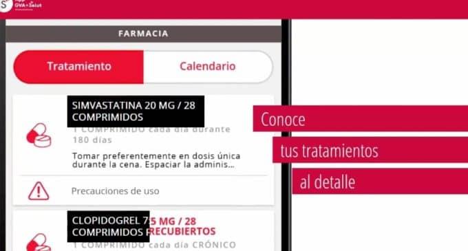 Sanidad actualiza con una nueva versión la app GVA+Salut que cuenta ya con cerca de 390.000 descargas de personas usuarias