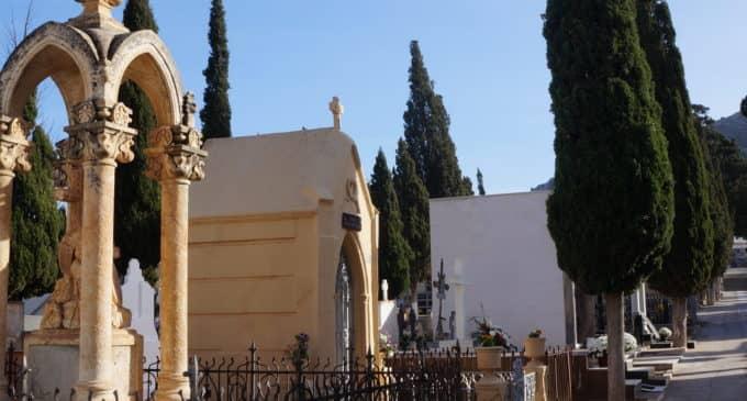 Solo un fallecido por Covid-19 consta en el cementerio de Villena