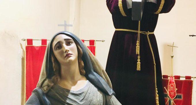 La cofradía de Nuestra Señora de los Dolores realizará un Triduo solidario
