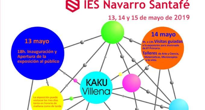 El IES Navarro Santafé organiza la exposición Conect@T al Navarro #innovación
