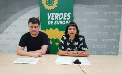 Los Verdes proponen una estación de autobuses junto a la de Renfe
