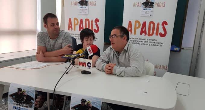 Apadis organiza  una nueva jornada de buceo solidario
