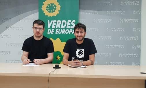 Los Verdes proponen desarrollar un bono joven para actividades culturales