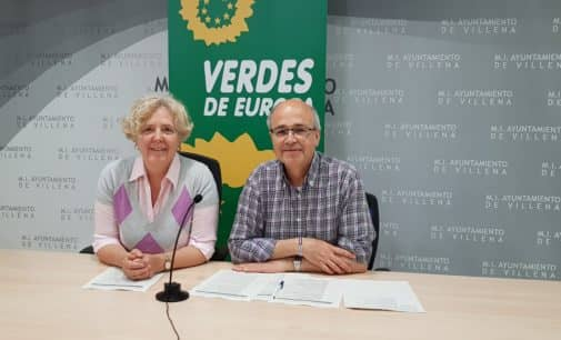 Los Verdes proponen la creación de una estación de autobuses en los terrenos de ADIF