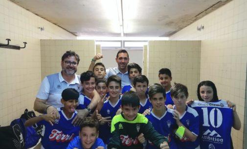 El Alevín A del Villena CF vuelve a conseguir otros 3 puntos más a domicilio