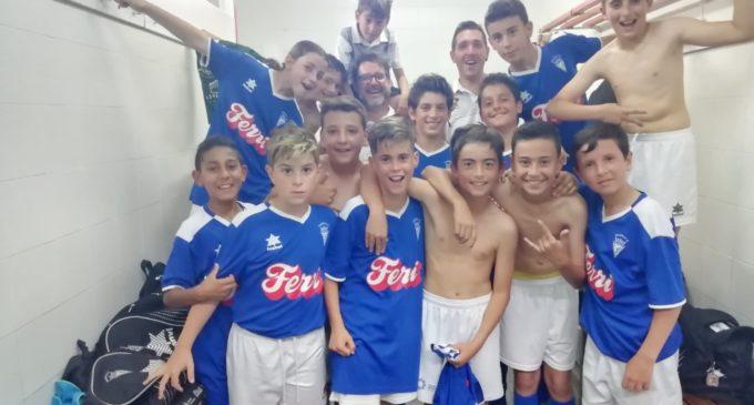 Gran partido del Alevín A del Villena CF