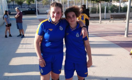 La Federación de Fútbol de la Comunidad Valenciana convoca a dos jugadoras del Villena CF