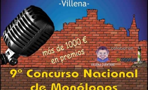 Bases del concurso nacional de monólogos El Rabal Villena 2019